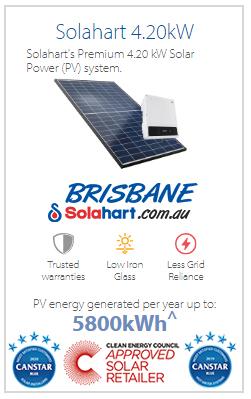 Solahart 4.20kW Solar Power (PV) System
