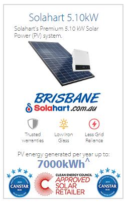Solahart's-Premium-5.10-kW-Solar-Power-(PV)-system
